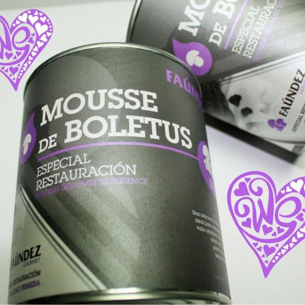 Boletus Mousse Tin 560g