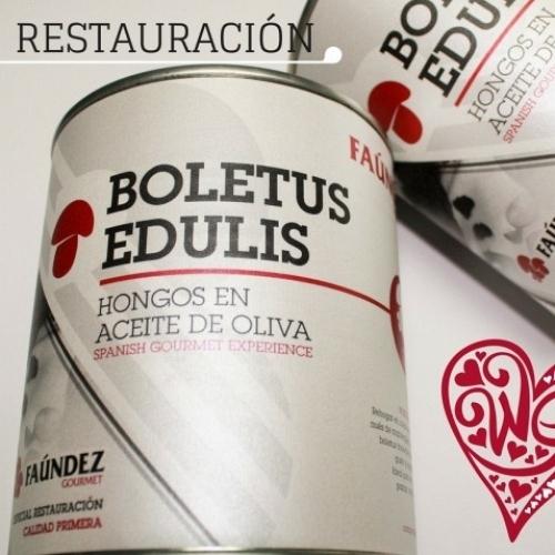 Boletus Edulis en Aceite de Oliva Primera 480g (Hongos Troceados)