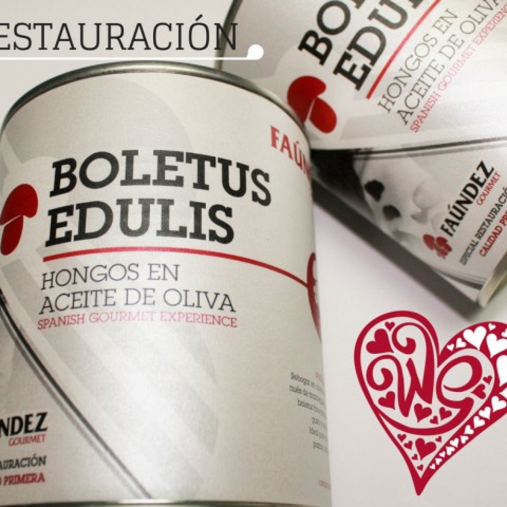 Boletus Edulis en Aceite de Oliva Primera 480g