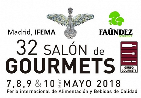 Visítenos en: 32 Salón de Gourmets. IFEMA (Madrid).
