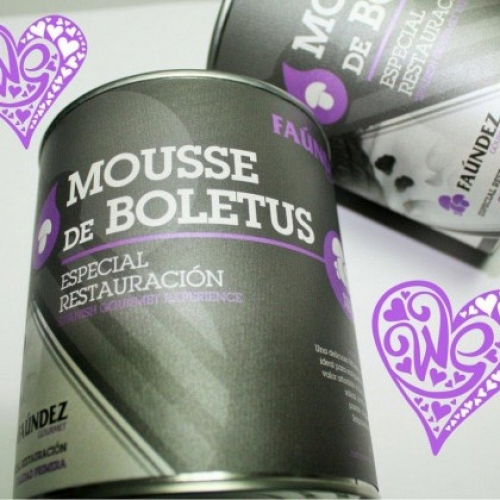 Boletus Mousse Tin 560g
