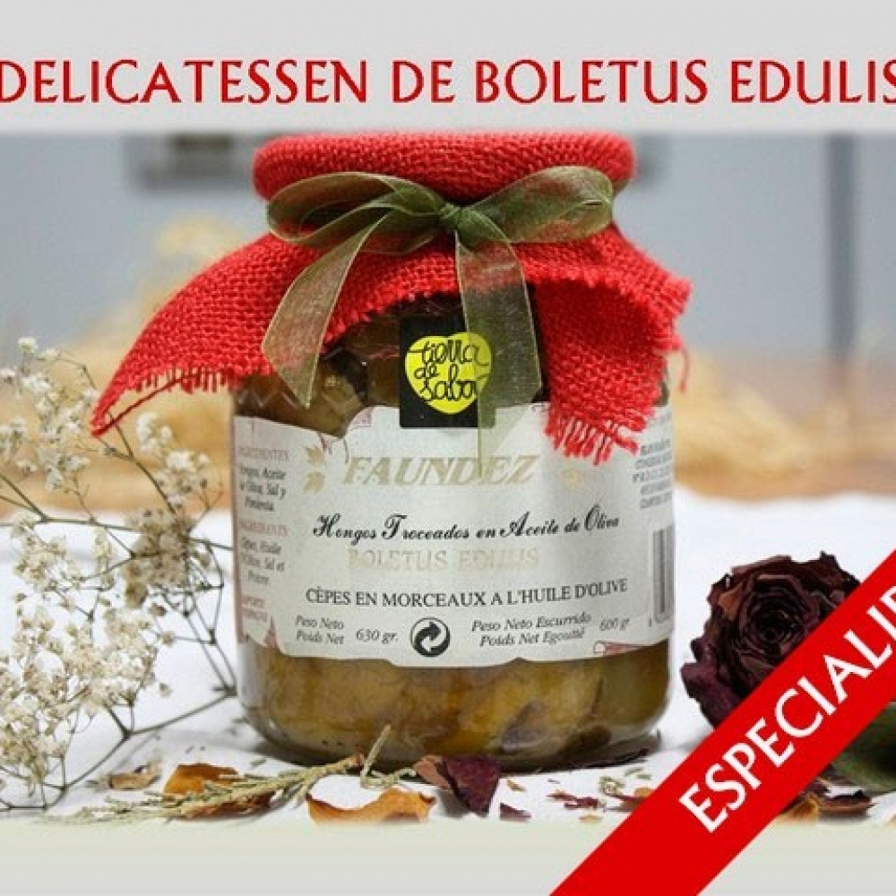 Delicatessen de Boletus Edulis 630g