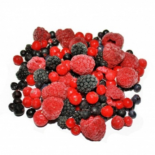 Quick-Frozen Berries Mixture
