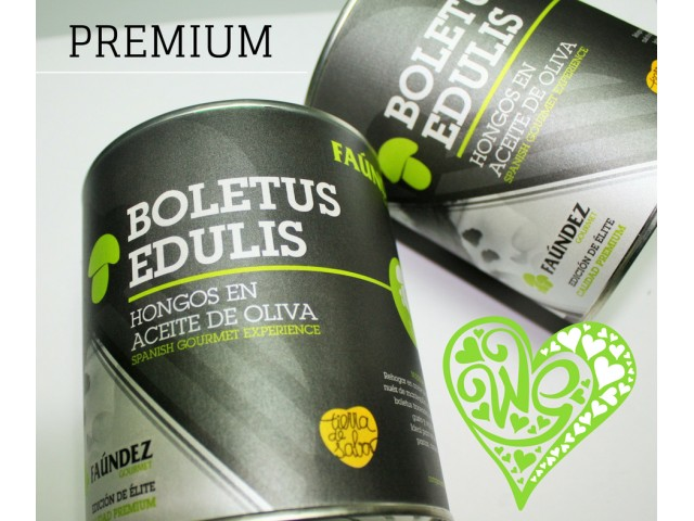 Canned Boletus Edulis In Premium Olive Oil 480g